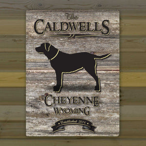 Personalized Weathered Wood Welcome to the Lake Canvas Sign | JDS