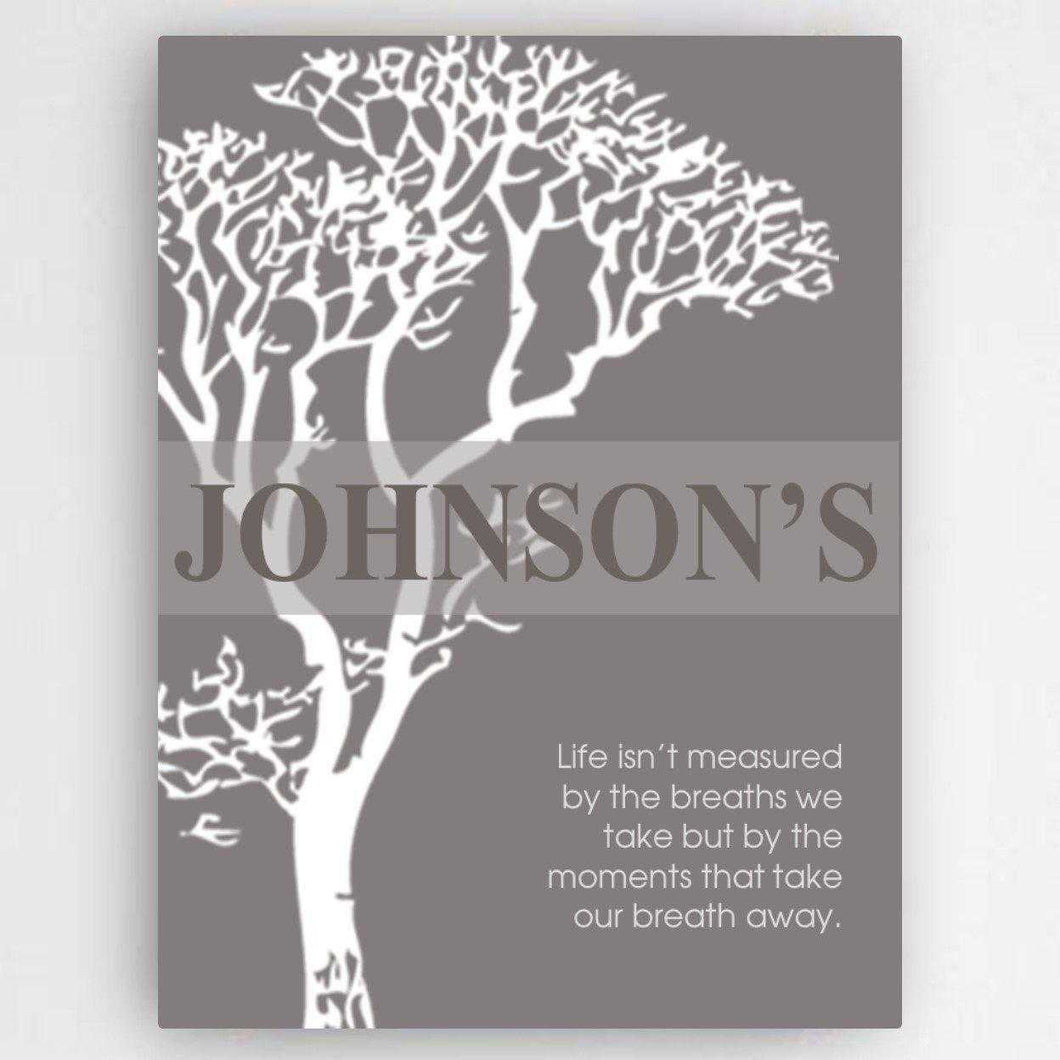 Personalized Inspirational Canvas Sign | JDS