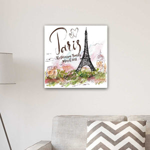 Personalized Paris Canvas | JDS