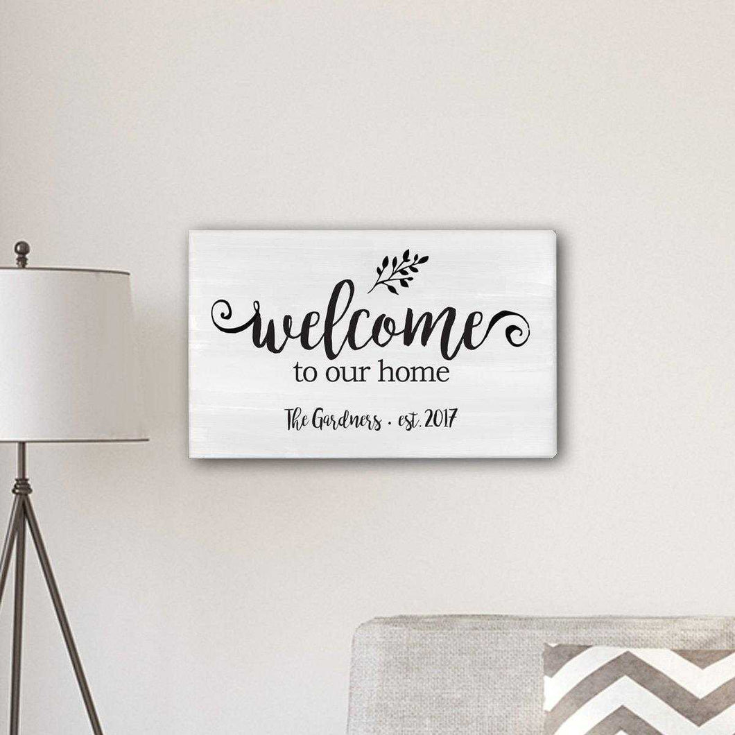 Personalized Welcome To our Home Modern Farmhouse 14