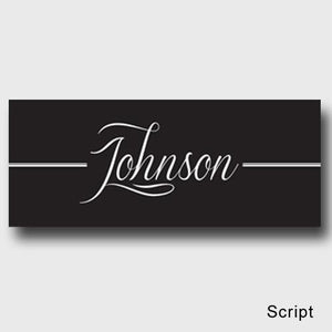 Personalized Family First Canvas Sign - Classic, Elegant, or Script | JDS