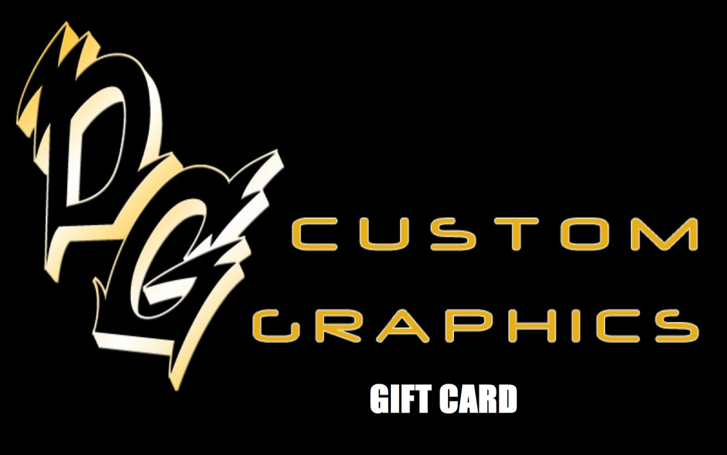 DG Custom Graphics Gift Card