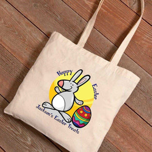 Personalized Easter Treat Canvas Bag | JDS