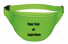 Load image into Gallery viewer, Custom Personalized 2 Zipper Quick Release Buckle Adjustable Waste Sport Fanny Pack | DG Custom Graphics