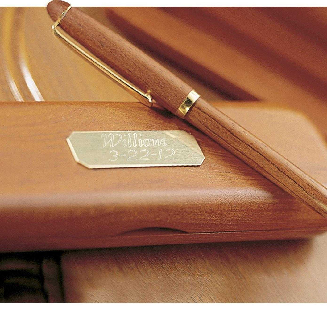 Personalized Pens - Rosewood - Pen & Case - Executive Gifts | JDS
