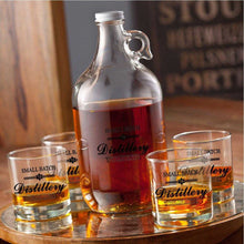 Load image into Gallery viewer, Personalized Whiskey Growler Set | JDS