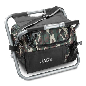 Personalized Cooler Chair - Camo - Sit N' Sip | JDS