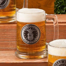 Load image into Gallery viewer, Personalized Military Emblem Steins - All Branches | JDS