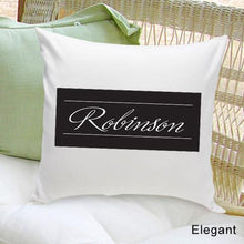 Load image into Gallery viewer, Personalized Family First Throw Pillow | JDS