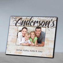 Load image into Gallery viewer, Personalized Family Picture Frame | JDS