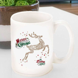 Personalized Vintage Holiday Coffee Mug - All | JDS