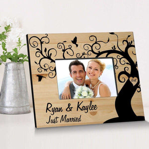 Personalized Winding Down Together Wooden Picture Frame | JDS