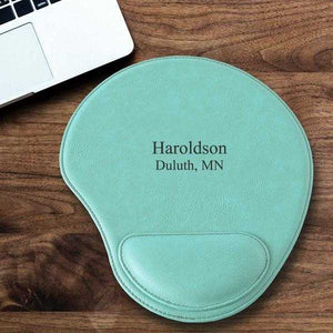 Personalized Mint Mouse Pad | JDS