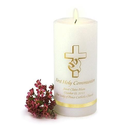 Personalized Communion Candle | JDS