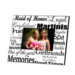 Personalized Maid of Honor Picture Frame | JDS