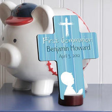 Load image into Gallery viewer, Personalized First Communion Cross for boys and girls | JDS