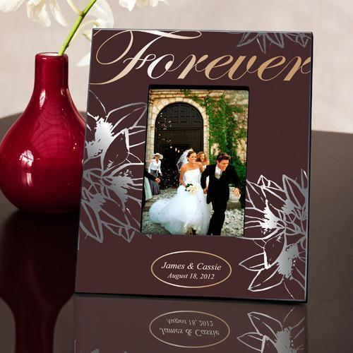 Personalized Couple's Frame - Forever Silver/Gold | JDS