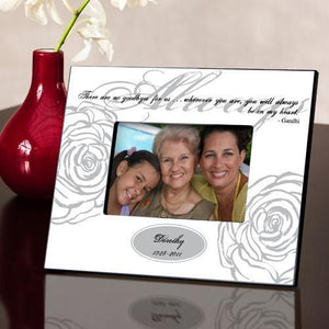 Personalized Always Memorial Picture Frame - White | JDS