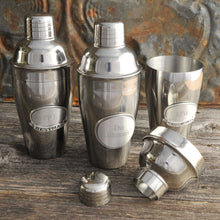 Load image into Gallery viewer, Personalized Mixologist Cocktail Shaker w/Pewter Medallion | JDS