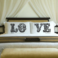 Load image into Gallery viewer, Personalized Couples Pillow Case Set - 9 Designs | JDS