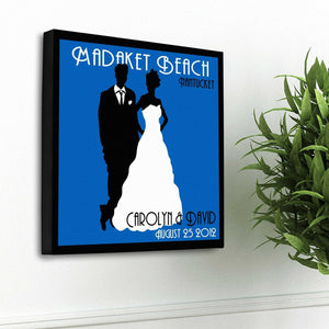 Personalized Couples Studio Canvas Sign | JDS