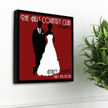 Load image into Gallery viewer, Personalized Couples Studio Canvas Sign | JDS