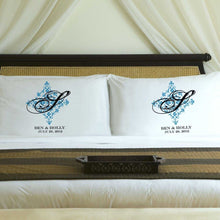 Load image into Gallery viewer, Personalized Perfect Panache Couples Pillow Case Set | JDS
