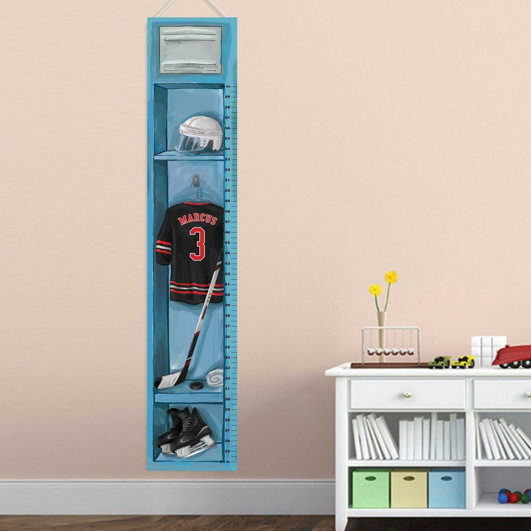 Child Hockey Growth Chart | JDS