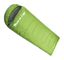 Custom Designed Sleeping Bag With Your Personalized Name