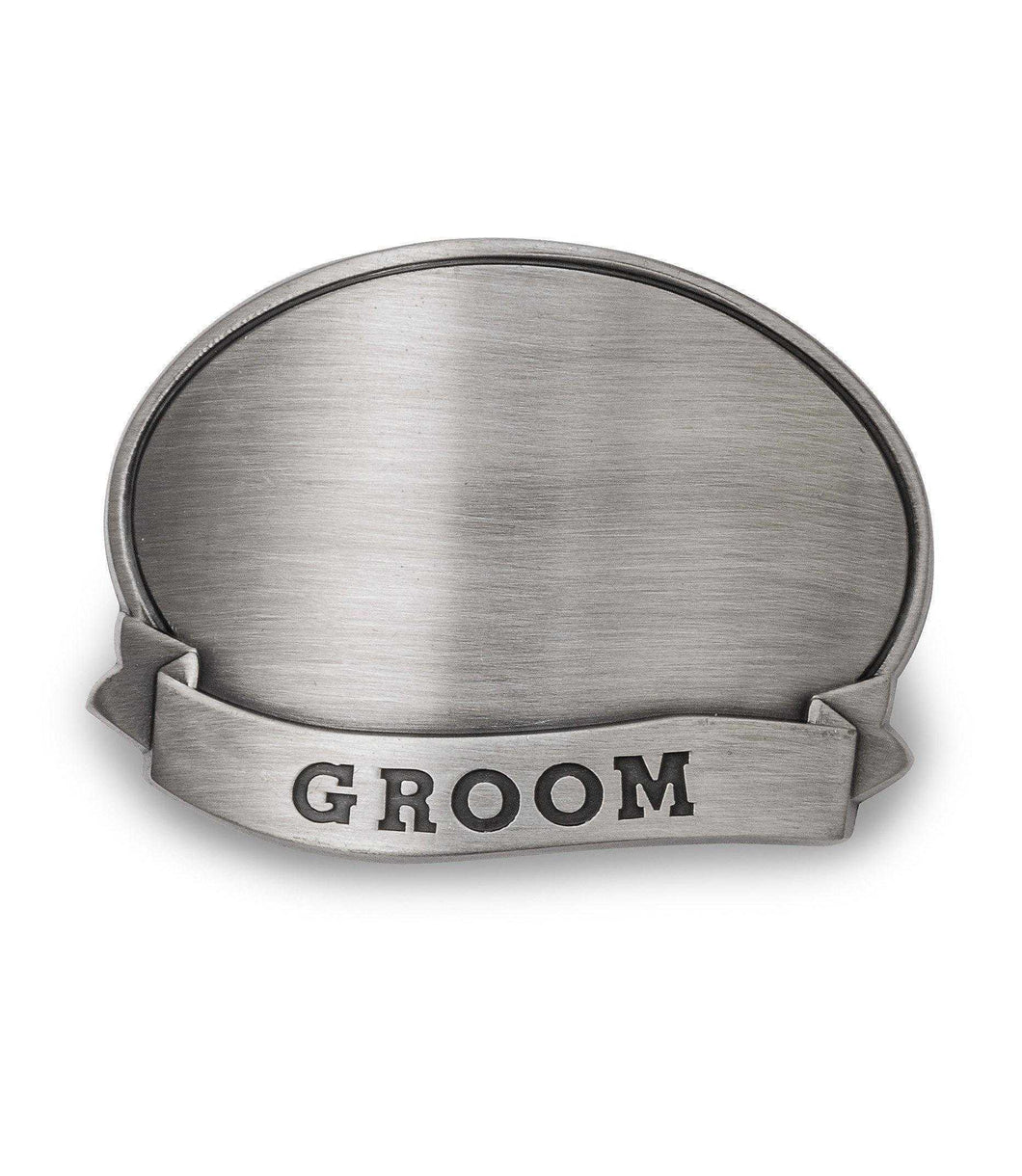 Personalized Tankard with Pewter Medallion | JDS