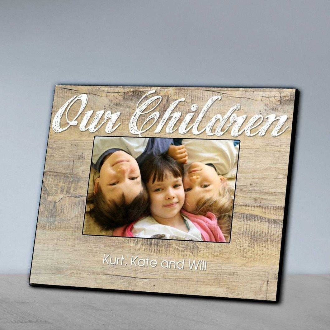 Personalized Our Family Picture Frame - Our Children | JDS