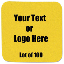 Load image into Gallery viewer, Custom Personalize Your Own Coasters (Lot of 100) | DG Custom Graphics