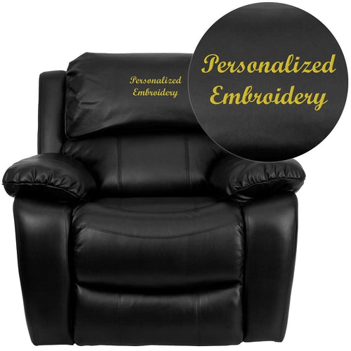 Custom Designed Adult Recliner with Your Personalized Name | DG Custom Graphics