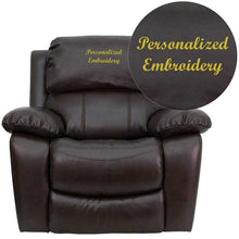Load image into Gallery viewer, Custom Designed Adult Recliner with Your Personalized Name