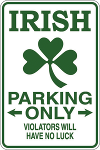 Personalized Novelty Parking Sign, Bar Signs, Funny Gift Signs | DG Custom Graphics