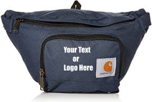 Load image into Gallery viewer, Custom Personalized Carhartt Two Zippered Compartments Adjustable Waist Pack