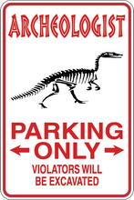 Load image into Gallery viewer, Personalized Novelty Occupation Parking Sign, Work Signs, Funny Gift Signs | DG Custom Graphics