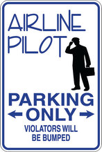 Personalized Novelty Occupation Parking Sign, Work Signs, Funny Gift Signs