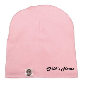 Custom Personalized Monogrammed/Embroider Your Child's Beanie Hat