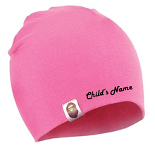 Load image into Gallery viewer, Custom Personalized Monogrammed/Embroider Your Child's Beanie Hat