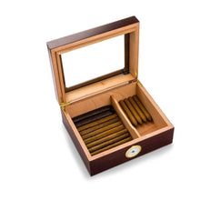 Load image into Gallery viewer, Personalized Humidor - Glass Top - Mahogany | JDS