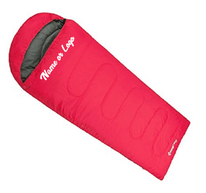 Custom Designed Sleeping Bag With Your Personalized Name | DG Custom Graphics
