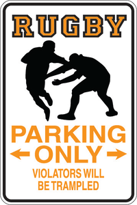 Personalized Novelty Sports Player Parking Sign, Bedroom Signs, Funny Gift Signs | DG Custom Graphics