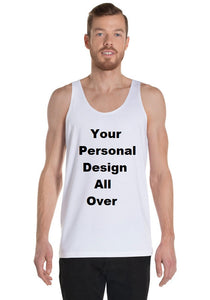 Your Personal Design All Over Your Own Tank Top