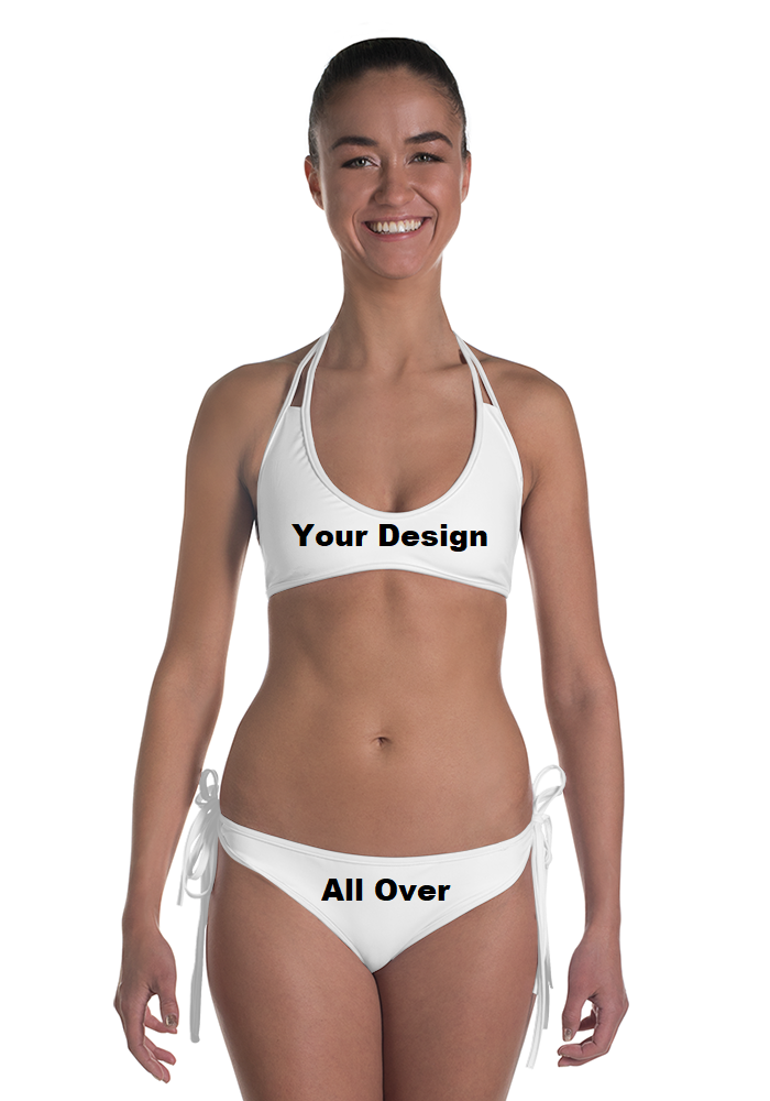 Your Personal Design All Over Two-Piece Bikini Swim Suit | DG Custom Graphics
