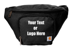 Custom Personalized Carhartt Two Zippered Compartments Adjustable Waist Pack