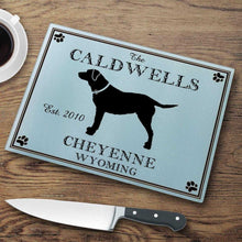 Load image into Gallery viewer, Personalized Cutting Boards - Glass - Cabin Decor - Cabin Series | JDS