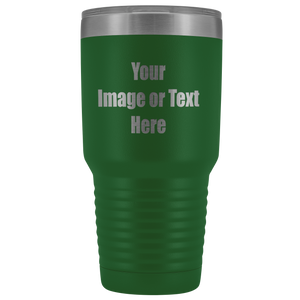 Personalized Laser Engraved 30 oz. Vacuum Tumbler | teelaunch