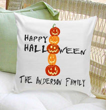 Load image into Gallery viewer, Personalized Halloween Throw Pillows | JDS
