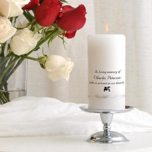 Personalized Memorial Candle | JDS